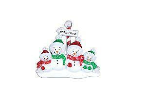 personalized family christmas ornaments - Ebay Christmas Ornaments