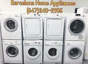 WASHERS & DRYERS ALL BRANDS & SIZES
