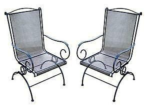 Attrayant Wrought Iron Patio Chairs