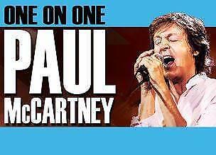 1 Diamond Floor Ticket Paul McCartney One on One Brisbane 9 Dec