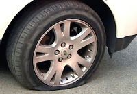 REPARATION DE CREVAISON / MOBILE FLAT TIRE REPAIR