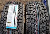 Two Brand New 245 / 45 R18 Nankang SV1 Snow Tires