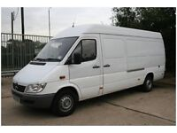 Wanted Mercedes Sprinter LWB Upto 2006 URGENT Cash waiting