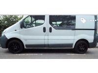 1.9 Vauxhall vivaro crew van