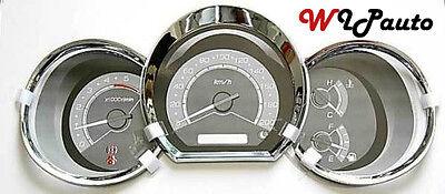 FOR TOYOTA HILUX VIGO SR5 MK6  2005-2011 CHROME DASH GAUGE COVER TRIM