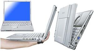 RELIABLE PANASONIC TOUGHBOOK CF-T8 RUGGED LAPTOP + TOUCH SCREEN