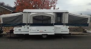 Selling our 2001 Coleman elite pop up trailer