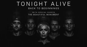 Tonight Alive at The Zoo Brisbane Toormina Coffs Harbour City Preview