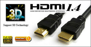 CABLE HDMI 6 PIEDS 12 PIEDS NEUF
