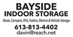 BAYSIDE INDOOR STORAGE - BOOK NOW FOR 2016 FALL/WINTER - $15/ft