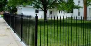 wrought iron fence wanted