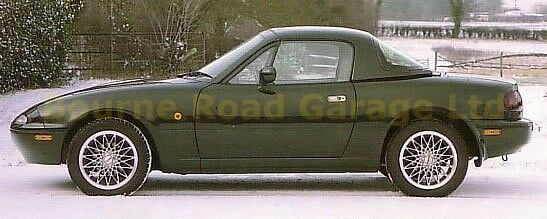 Breaking MX5 MK1 British Racing Green Limited Edition No 70 of only 250 produced
