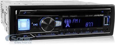 Alpine Cde 164Bt Car Stereo W  Cd Usb Aux Bluetooth   Pandora   Free Dash Kit