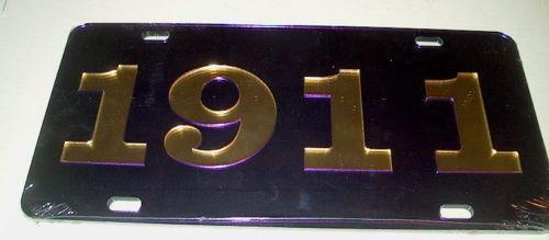 Omega Psi Phi License Plate Ebay
