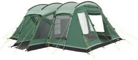 Outwell Montana 6P Deluxe Family Tent with Footprint (carpet)