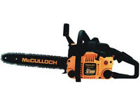 "For Sale New unused but unboxed McCULLOCH 338 14"" Chain Saw"
