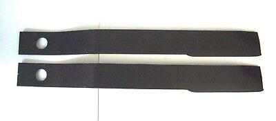 2 - 6ft Rotary Cutter Blades 30 14 Long 1 12 Bolt Hole Italian Made Bush Hog