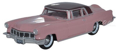 - Oxford 1956 Lincoln Continental Mark II Amethyst Diecast Metal Car 1/87 HO Scale