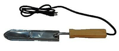 Proschoicebest Electric Uncapping Hot Knife Stainless Steel With Wooden Handle.