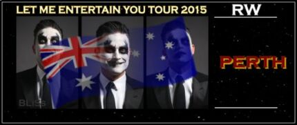 2 x Inner Pit Tickets - Robbie Williams - Friday 9th Oct!!! Gooseberry Hill Kalamunda Area Preview