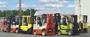PROPANE FORKLIFTS 2 to 6000 lbs AIR and CUSHION TIRES