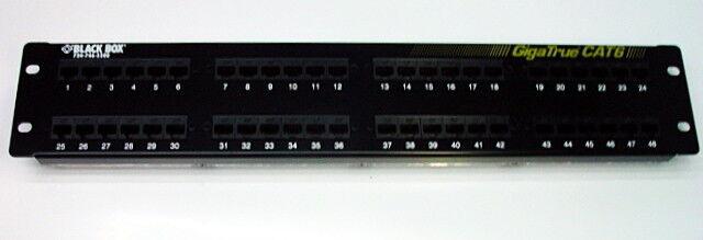 Black Box GigaTrue CAT6 Patch Panel