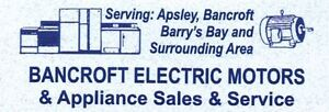 Appliance Repair & Service Bancroft Area CALL TODAY 613-332-4705