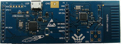 Cc1120 433mhz Booster Pack By V-chip