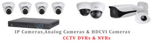 Security Camera And Alarm System Service