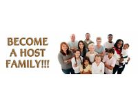 Host families needed!