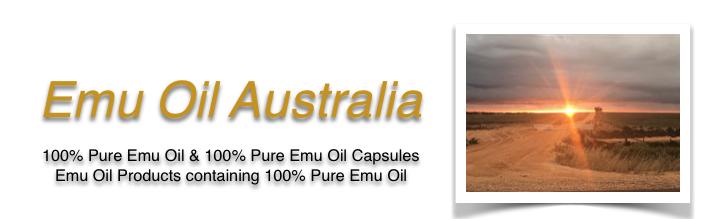 Emu Oil Autralia