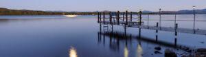 Waterfront 4 stars cottages Lac Mégantic