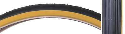 24 X  1 1/4 S-5/6 Tricycle Bike Tire Set Schwinn Gum 3 Tires+Tubes+Rim Strips for sale  Shipping to Canada