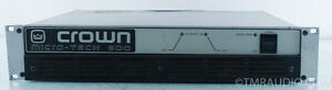 Crown MicroTech 600 Power Amplifier Windsor Region Ontario image 1