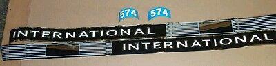 International Ih 574 Tractor Decals