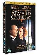Remains of The Day DVD