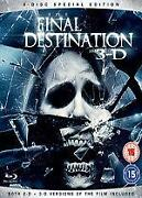The Final Destination 3D Blu Ray