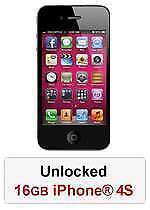 iPhone® 4s 16GB Unlocked - Black / White refurbished Morley Bayswater Area Preview