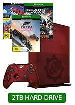 2TB Xbox One S Limited Edition Gears of War 4 Console + 2 Games Parramatta Parramatta Area Preview