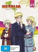 Hetalia World Series Season 4 DVD NEW