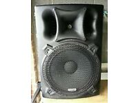 "Kam ims Pro 15"" Speakers with covers"