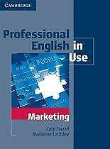 Professional English in Use Marketing with Ans 9780521702690