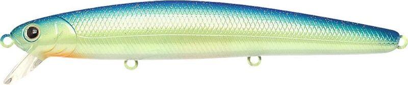 FINE Hook Lucky Craft Japan Single weave flashminnow 110-263 Chartreuse bleu