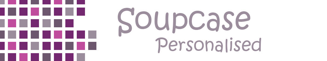 Soupcase Personalised Products