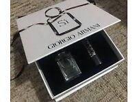 Giorgio Armani Si 7ml eau de parfum with mascara new and sealed