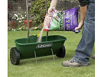 Evergreen Easy Spreader + , lawn fertilizer spreader
