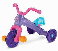 VELO FISHER PRICE ROSE POUR FILLE , TRICYCLE