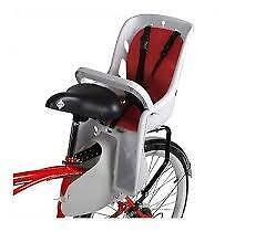 NEW Bell Cocoon 300 Child Carrier Bike child up to 40 Pounds carrier is rear mounting Seat Thick Pad 5 Point Harness