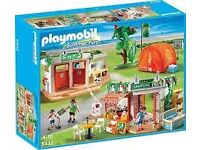 Playmobil 5432 campsite BOXED, new