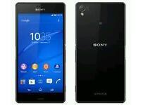 Sony Xperia Z3 unlocked (crack on back)